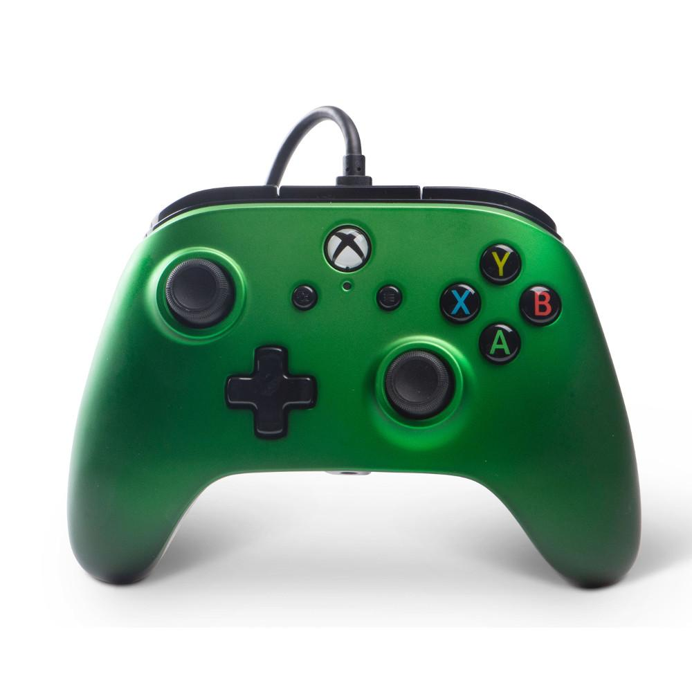 Xbox One Enhanced Wired Controller (Emerald Fade) | GAMORY