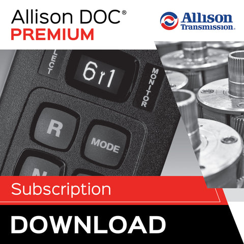 Allison DOC® Premium For Download