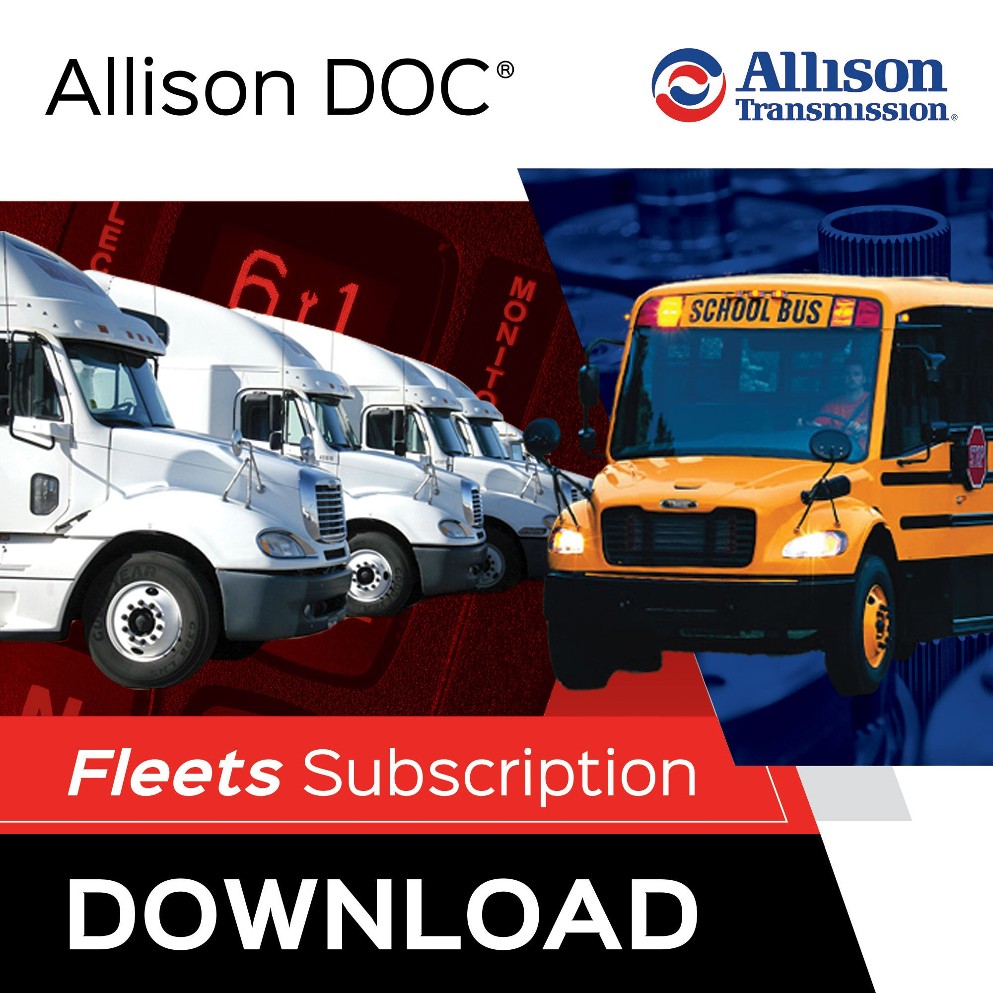 Allison DOCR Fleets For Download