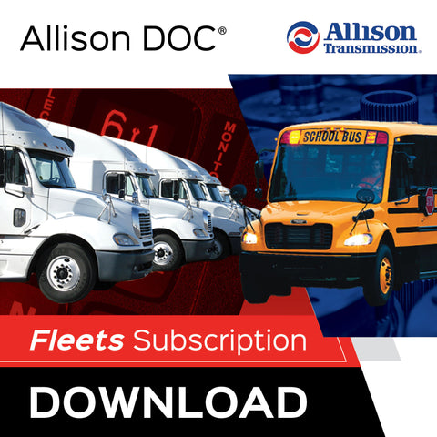 Allison DOC® Fleets For Download