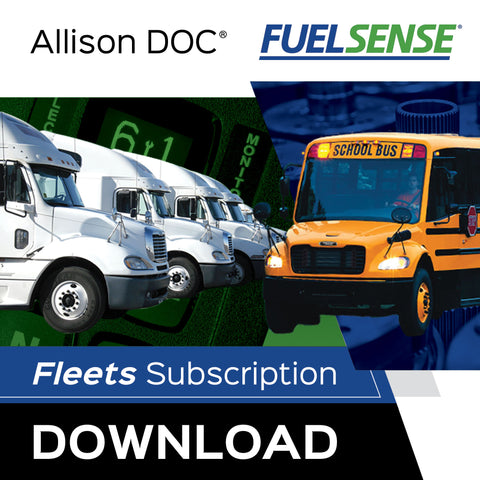 Allison DOC® Fleets (FuelSense®) For Download