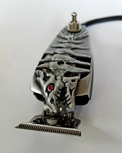 This Fishbone Skeleton Silver GTX Trimmer - Hiki10 Collection