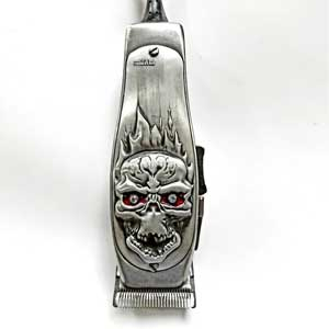 3D Stone Skull Andis Masters Hair Clipper