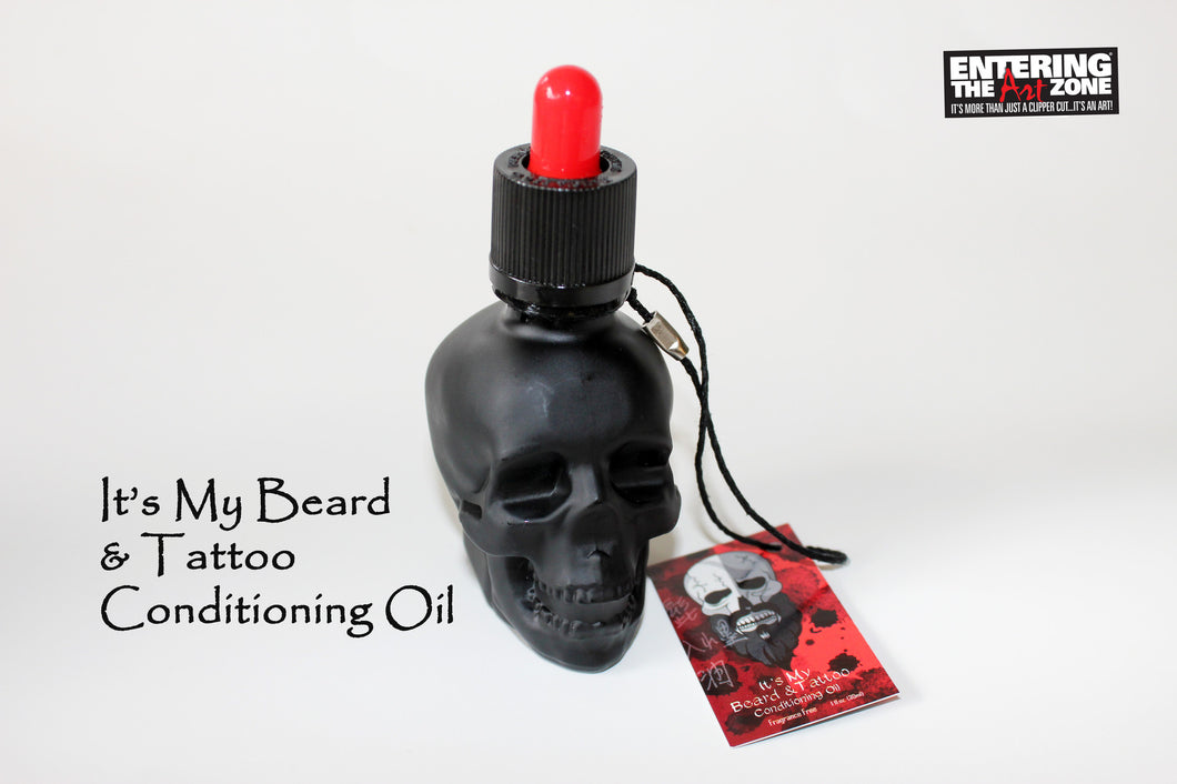 IT'S MY BEARD & TATTOO CONDITIONING OIL by Entering the ArtZone - Hiki10 Collection