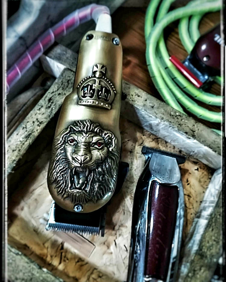 NEW COLLECTION Wahl Professional Senior 3D Lion Cooling Clipper Lids
