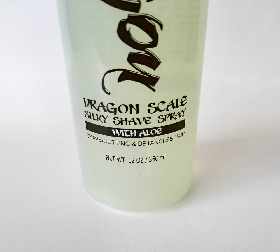 DRAGON SCALE SILKY LIQUID SHAVE SPRAY Professional product for razor shaving - Hiki10 Collection