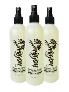 3 PACK DRAGON SCALE SILKY LIQUID SHAVE SPRAY for Professionals.