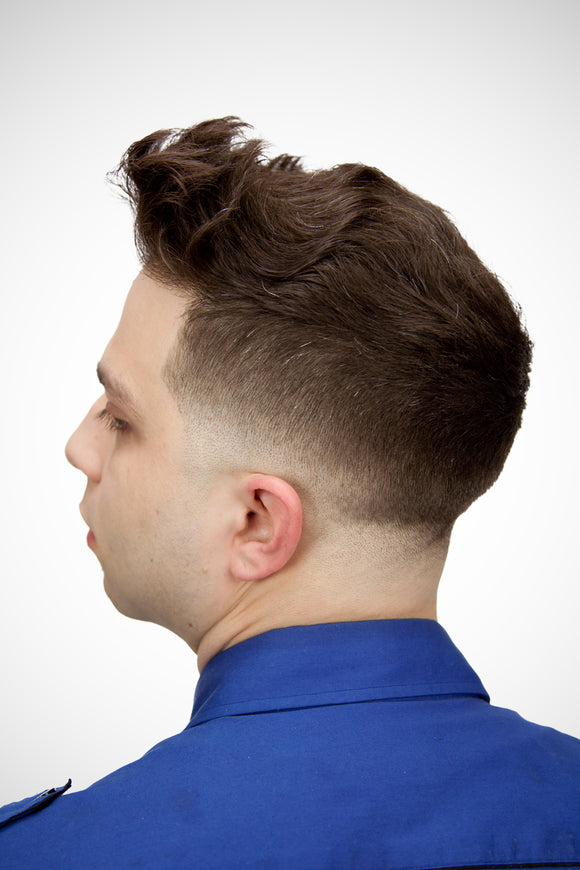 Step-by-Step Low Skin Fade