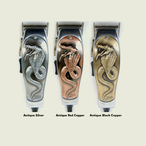 Andis Fade Masters Cooling Clipper Lids, Cobra 3D Faceplate - Hiki10 Collection