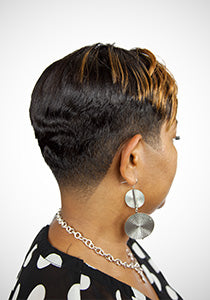 Step-by-Step Relaxed Hair Taper