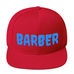BARBER Snapback Hat t-shirt - Hiki10 Collection