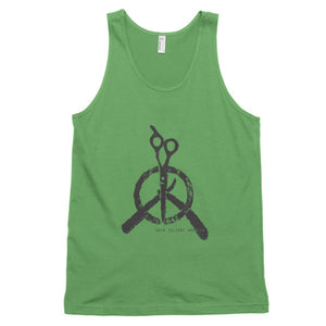 Hair Culture America Peace Logo Classic tank top (unisex) - Hiki10 Collection