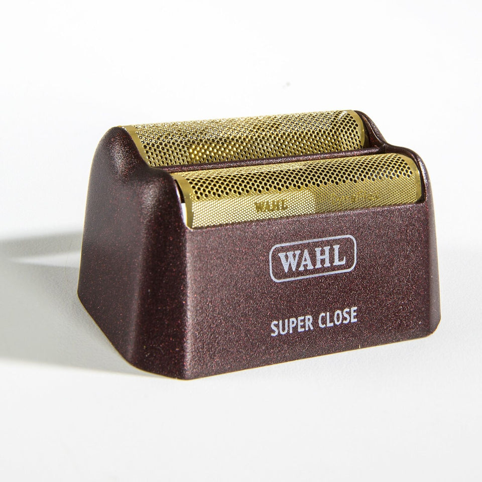 Wahl 5 Star Series Shaver/Shaper Replacement Gold Foil & Cutter Bar Assembly Red Super Close 7031-100