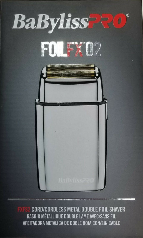 BaByliss PRO Silver FOIL FX02