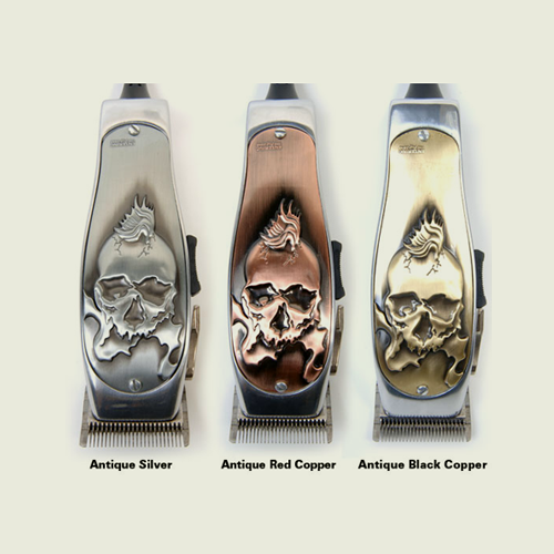 Andis Fade Masters Clipper 3D Skull Cooling Faceplate Lids - Hiki10 Collection
