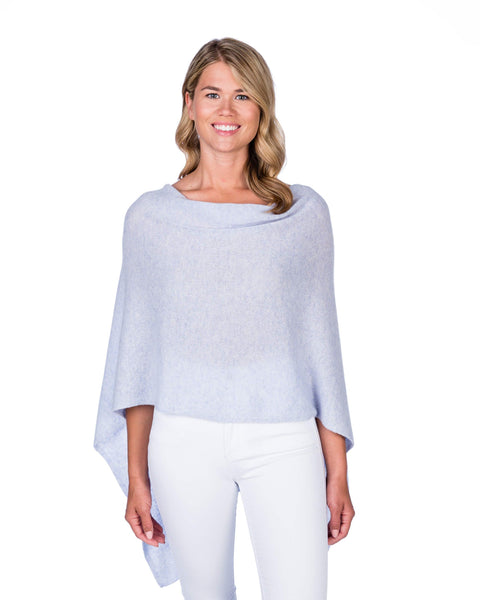 Claudia Nichole Cashmere Dress Topper - Periwinkle