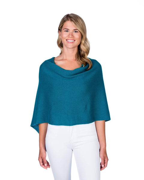 Claudia Nichole Cashmere Dress Topper - Sea Isle