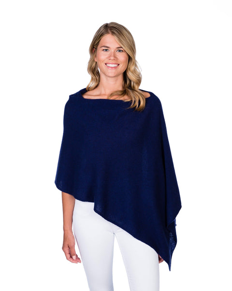 Claudia Nichole Cashmere Dress Topper - Midnight