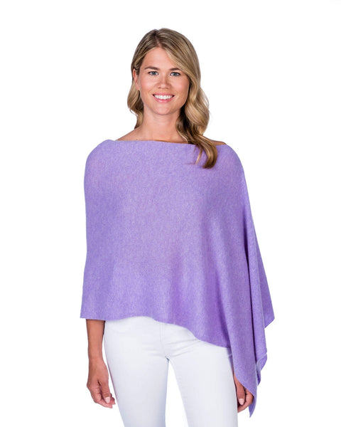 Claudia Nichole Cashmere Dress Topper - Lilac