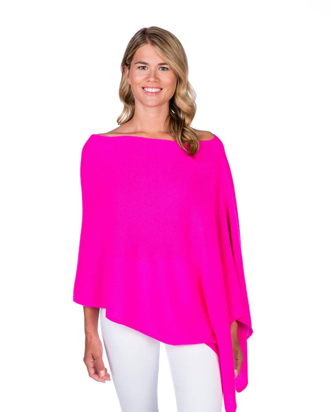 Claudia Nichole Cashmere Dress Topper - Tickled Pink