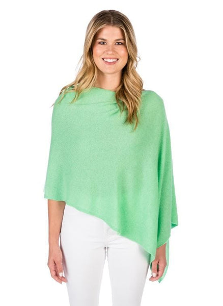 Claudia Nichole Cashmere Dress Topper - Aloha Green