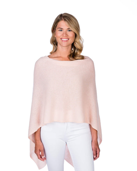 Claudia Nichole Cashmere Dress Topper - Blush