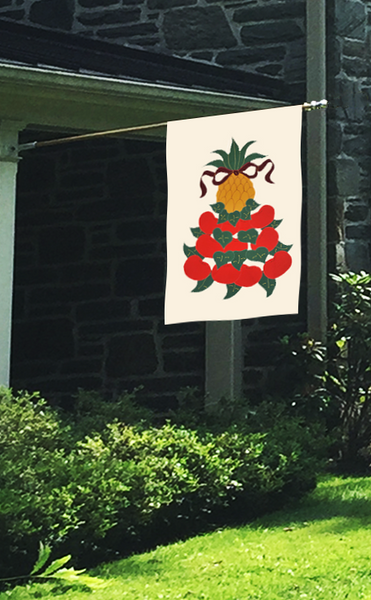 Williamsburg Applique House Flag