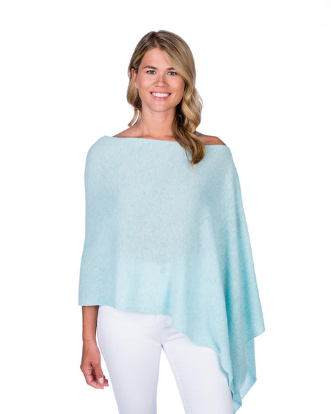 Claudia Nichole Cashmere Dress Topper - Opal