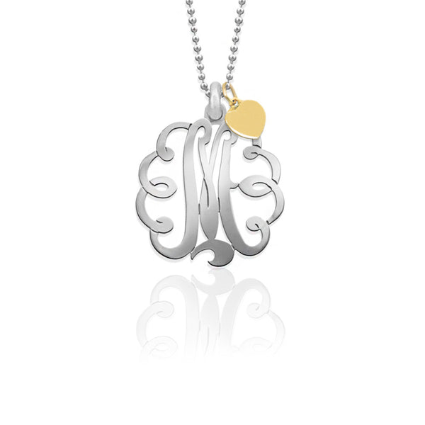 Jane Basch Designs Mommy Monogram Necklace