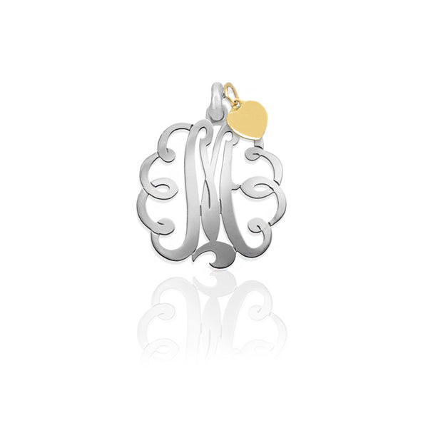 Jane Basch Designs Mommy Monogram Charm Set