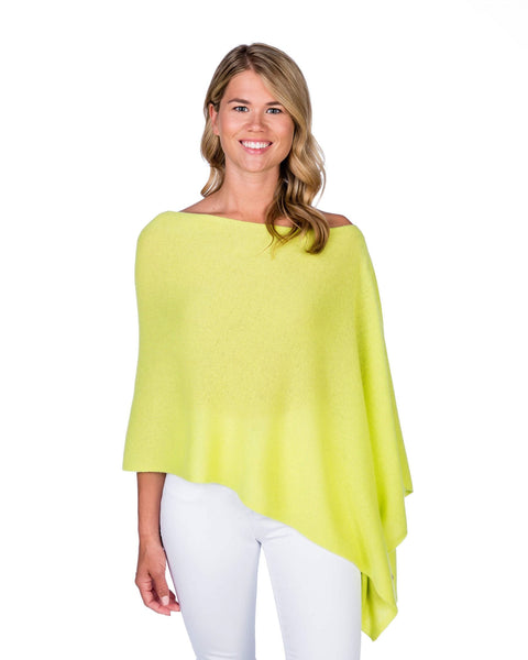 Claudia Nichole Cashmere Dress Topper - Dayglow