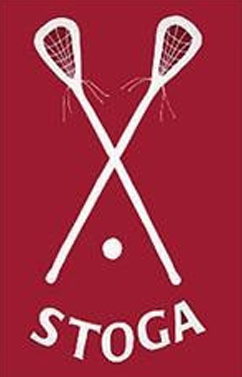 Conestoga 'Stoga Lacrosse Applique House Flag