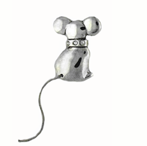 Sterling Silver Mouse Pin - Save 60%!
