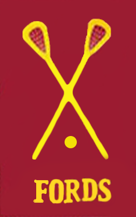 Haverford Lacrosse Applique Flag