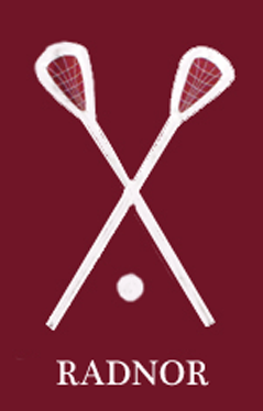 Radnor Lacrosse Applique House Flag