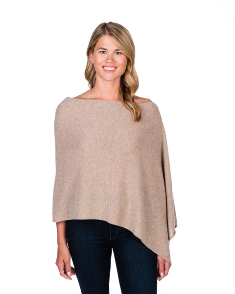 Claudia Nichole Cashmere Dress Topper - Natural