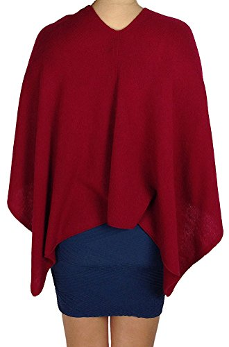 Claudia Nichole Cashmere Dress Topper - Red Velvet