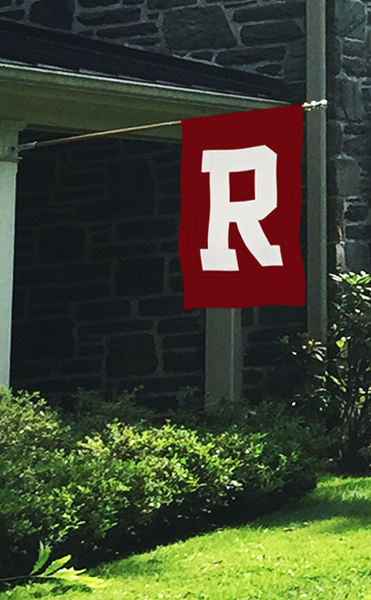 "Radnor ""R"" Applique House Flag"