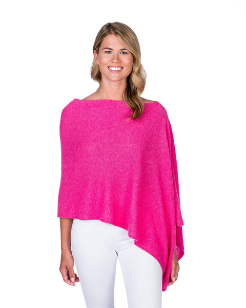 Claudia Nichole Cashmere Dress Topper - Bloom Pink