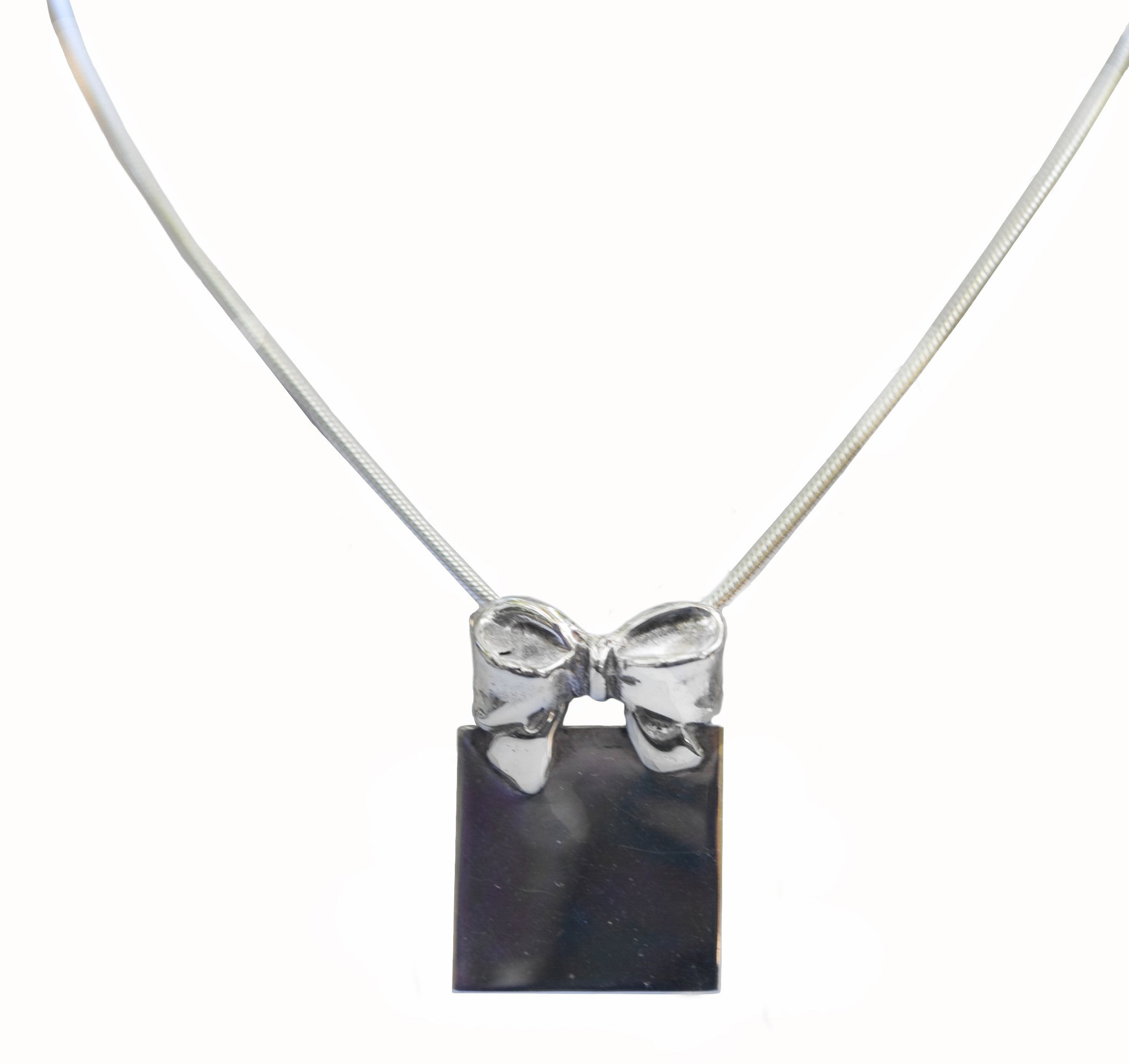 Sterling silver bow pendant 60 off last one flag lady gifts sterling silver bow pendant 60 off last one aloadofball Images