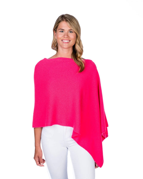 Claudia Nichole Cashmere Dress Topper - Hibiscus