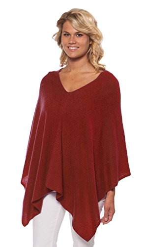 Claudia Nichole Cashmere Dress Topper - Maple