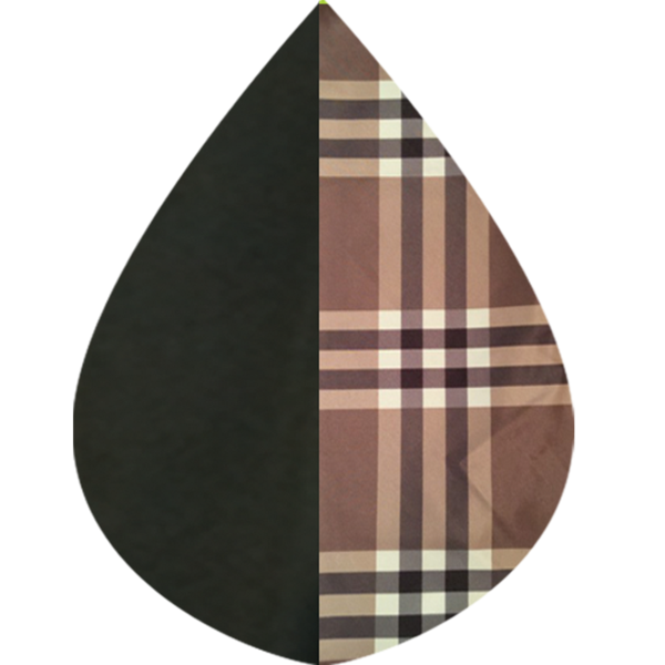 RainCaper Black & Coco Plaid - Top Seller!