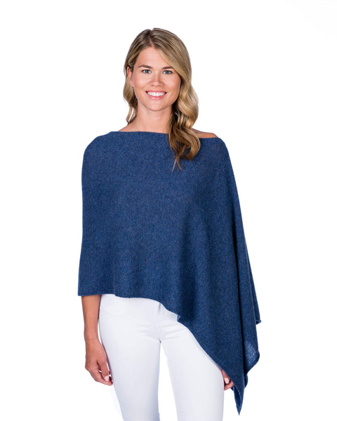 Claudia Nichole Cashmere Dress Topper - Denim