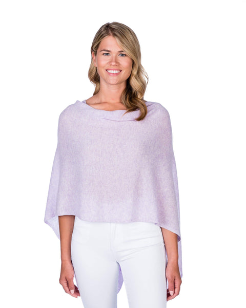 Claudia Nichole Cashmere Dress Topper - Lavender