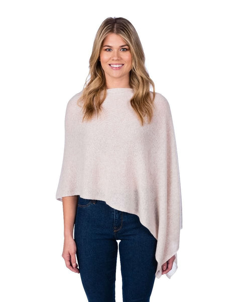 Claudia Nichole Cashmere Dress Topper - Oatmeal