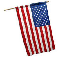 US Flag Banner for Spinning Pole - Choose  Size & Material