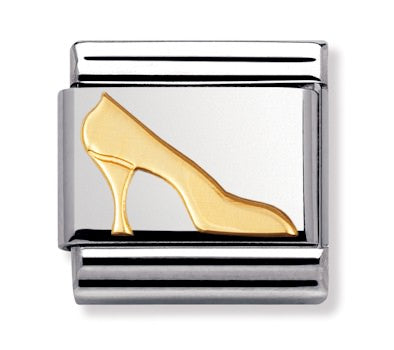 Authentic Nomination Link - High Heel - Gold