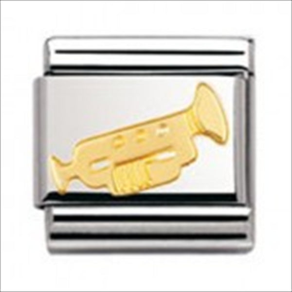 Authentic Nomination Link - Trumpet - Gold