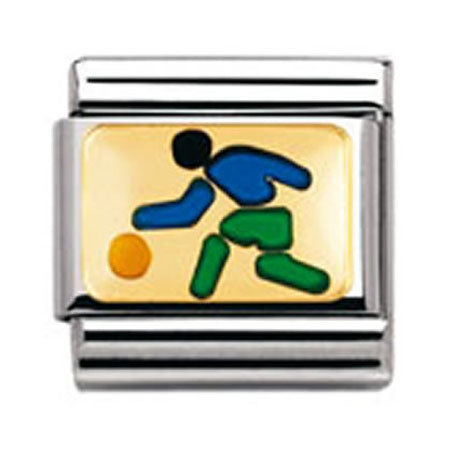 Authentic Nomination Link - Basketball Player - Enamel